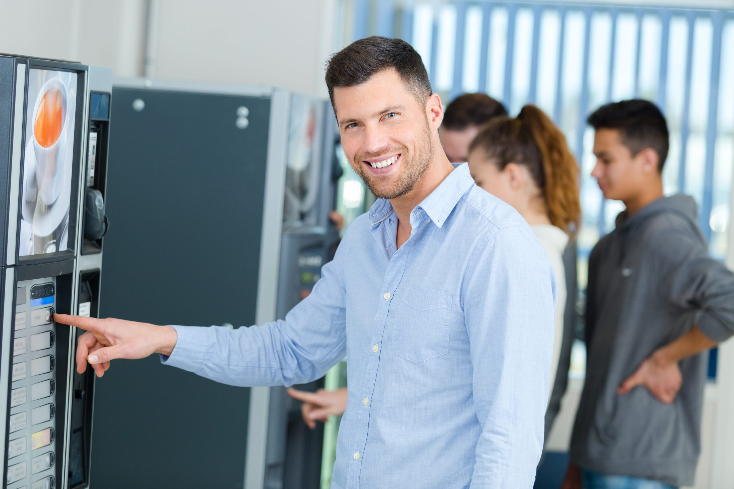 Vending Technology in the San Francisco Bay Area